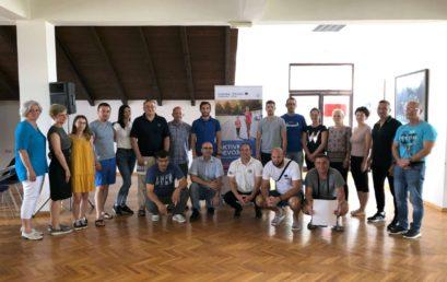 The second educational workshop held in Banja Junaković